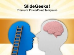 Brain Strength To Solve Problem PowerPoint Templates Ppt Backgrounds For Slides 0613