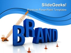 Brand Construction PowerPoint Templates And PowerPoint Backgrounds 0611