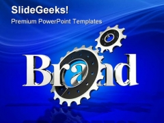Brand In Motion Business PowerPoint Templates And PowerPoint Backgrounds 0611