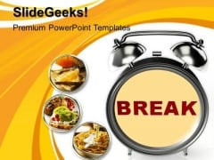 Break Time PowerPoint Templates And PowerPoint Themes 1012