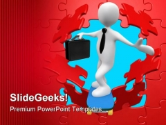Breakthrough Business PowerPoint Themes And PowerPoint Slides 0511