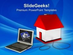 Browsing Through Internet Real Estate PowerPoint Templates Ppt Backgrounds For Slides 0213