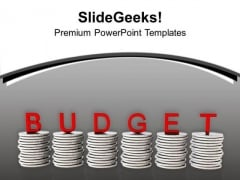 Budget Can Save Money PowerPoint Templates Ppt Backgrounds For Slides 0413