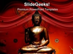 Budha01 Religion PowerPoint Templates And PowerPoint Backgrounds 0411