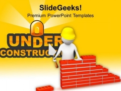 Build The Ideas For Innovation PowerPoint Templates Ppt Backgrounds For Slides 0513