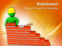 Build Your Dream Home PowerPoint Templates Ppt Backgrounds For Slides 0613