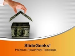 Build Your Own Home PowerPoint Templates Ppt Backgrounds For Slides 0413