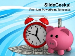 Build Your Savings And Attain Your Goal PowerPoint Templates Ppt Backgrounds For Slides 0713