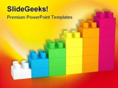 Building Blocks Construction PowerPoint Backgrounds And Templates 0111