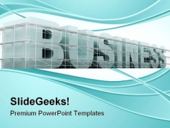 Building Business Architecture PowerPoint Themes And PowerPoint Slides 0511