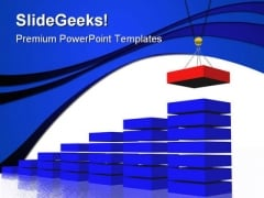 Building Graph Business PowerPoint Themes And PowerPoint Slides 0511