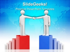 Business Agreement Handshake PowerPoint Themes And PowerPoint Slides 0711