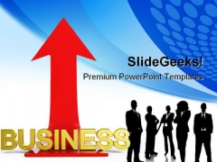 Business Arrow Success PowerPoint Templates And PowerPoint Backgrounds 0311