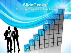 Business Bar Graph Success PowerPoint Templates And PowerPoint Themes 0712