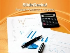 Business Calculations Sales PowerPoint Themes And PowerPoint Slides 0411