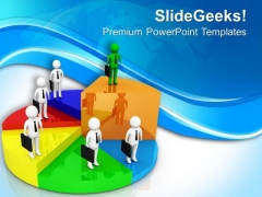 Business Can Raise You Up PowerPoint Templates Ppt Backgrounds For Slides 0713