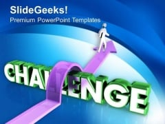 Business Challenges And Solutions To Overcome PowerPoint Templates Ppt Backgrounds For Slides 0613