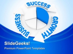 Business Chart Concept Success PowerPoint Themes And PowerPoint Slides 0511