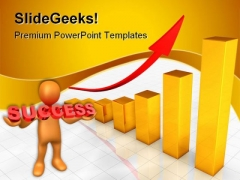 Business Chart Success PowerPoint Themes And PowerPoint Slides 0211