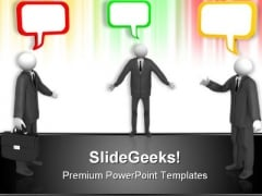 Business Communication PowerPoint Themes And PowerPoint Slides 0511
