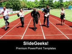 Business Competition People PowerPoint Themes And PowerPoint Slides 0511