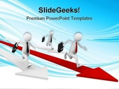Business Competition Success PowerPoint Themes And PowerPoint Slides 0511