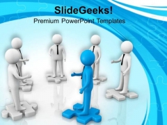 Business Deals And Partners Leadership Concept PowerPoint Templates Ppt Backgrounds For Slides 0313