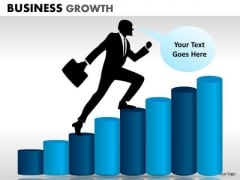 Business Diagram Business Growth Business Cycle Diagram