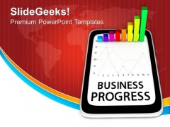 Business Diagram On Computer Tablet PowerPoint Templates Ppt Backgrounds For Slides 0213