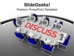 Business Discussion Target Meeting PowerPoint Templates Ppt Backgrounds For Slides 0413