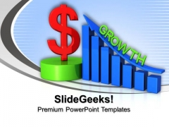 Business Dollar Growth Finance PowerPoint Templates And PowerPoint Themes 1012