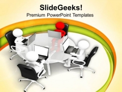 Business Events And Strategic Meetings PowerPoint Templates Ppt Backgrounds For Slides 0613