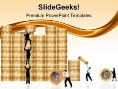 Business Financial Environment Finance PowerPoint Themes And PowerPoint Slides 0511