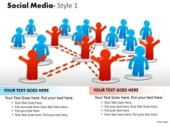 Business Framework Model Social Media Style 1 Diagram Strategy Diagram