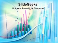 Business Graph Abstract PowerPoint Templates And PowerPoint Backgrounds 0211