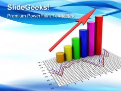 Business Graph Arrow Success PowerPoint Templates And PowerPoint Backgrounds 0311