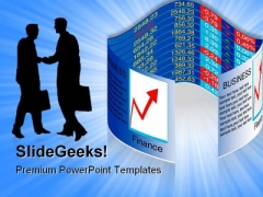 Business Graph Marketing PowerPoint Templates And PowerPoint Backgrounds 0511