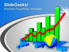 Business Graph Success Global Result PowerPoint Templates Ppt Backgrounds For Slides 0513