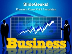 Business Graph Success PowerPoint Templates And PowerPoint Backgrounds 1011