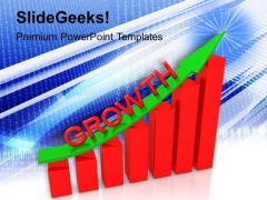 Business Graph Up PowerPoint Templates And PowerPoint Themes 1012