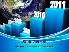 Business Growth2011 Concept Globe PowerPoint Templates And PowerPoint Backgrounds 0211