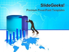 Business Growth Chart Finance PowerPoint Templates And PowerPoint Backgrounds 0511