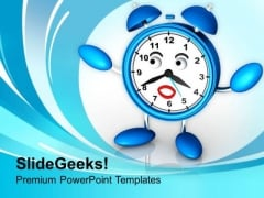Business Growth Depends On Time PowerPoint Templates Ppt Backgrounds For Slides 0413