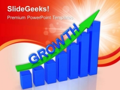 Business Growth Statistics PowerPoint Templates And PowerPoint Themes 0912