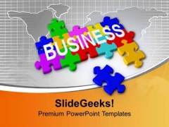 Business Is Combination Of Many Things PowerPoint Templates Ppt Backgrounds For Slides 0413