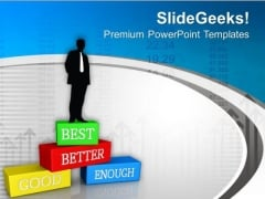 Business Leadership Award PowerPoint Templates Ppt Backgrounds For Slides 0413