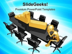 Business Loss Finance PowerPoint Templates And PowerPoint Backgrounds 1011