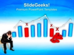 Business Loss Graph Finance PowerPoint Templates And PowerPoint Themes 0812