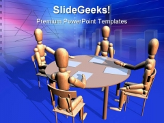 Business Meeting Business PowerPoint Themes And PowerPoint Slides 0211