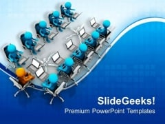 Business Meeting Marketing Theme PowerPoint Templates Ppt Backgrounds For Slides 0613